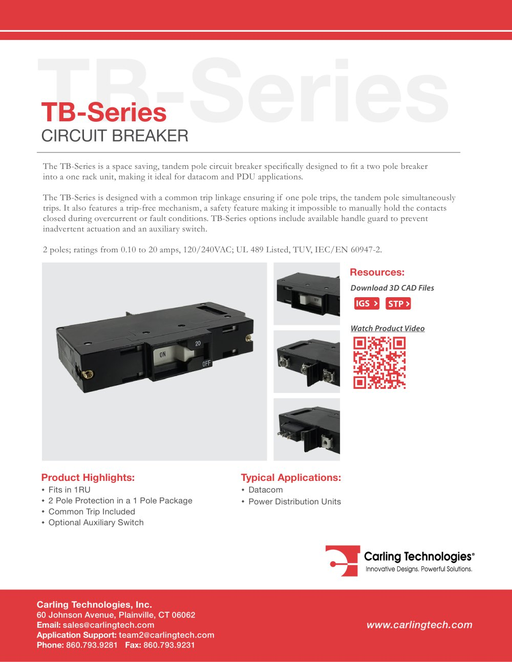 Lt Series Carling Wiring Diagram Trusted Essex Tb Technologies Pdf Catalogue Technical
