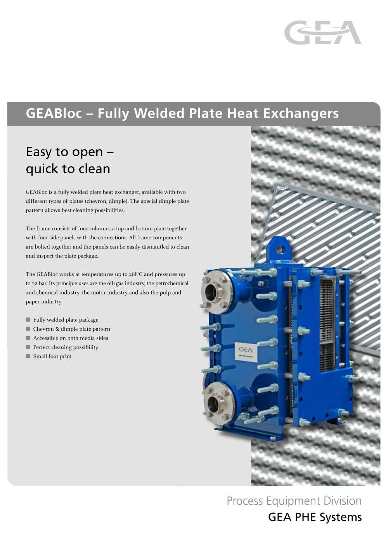 GEABloc ? Fully Welded Plate Heat Exchangers - Ecoflex - PDF ...