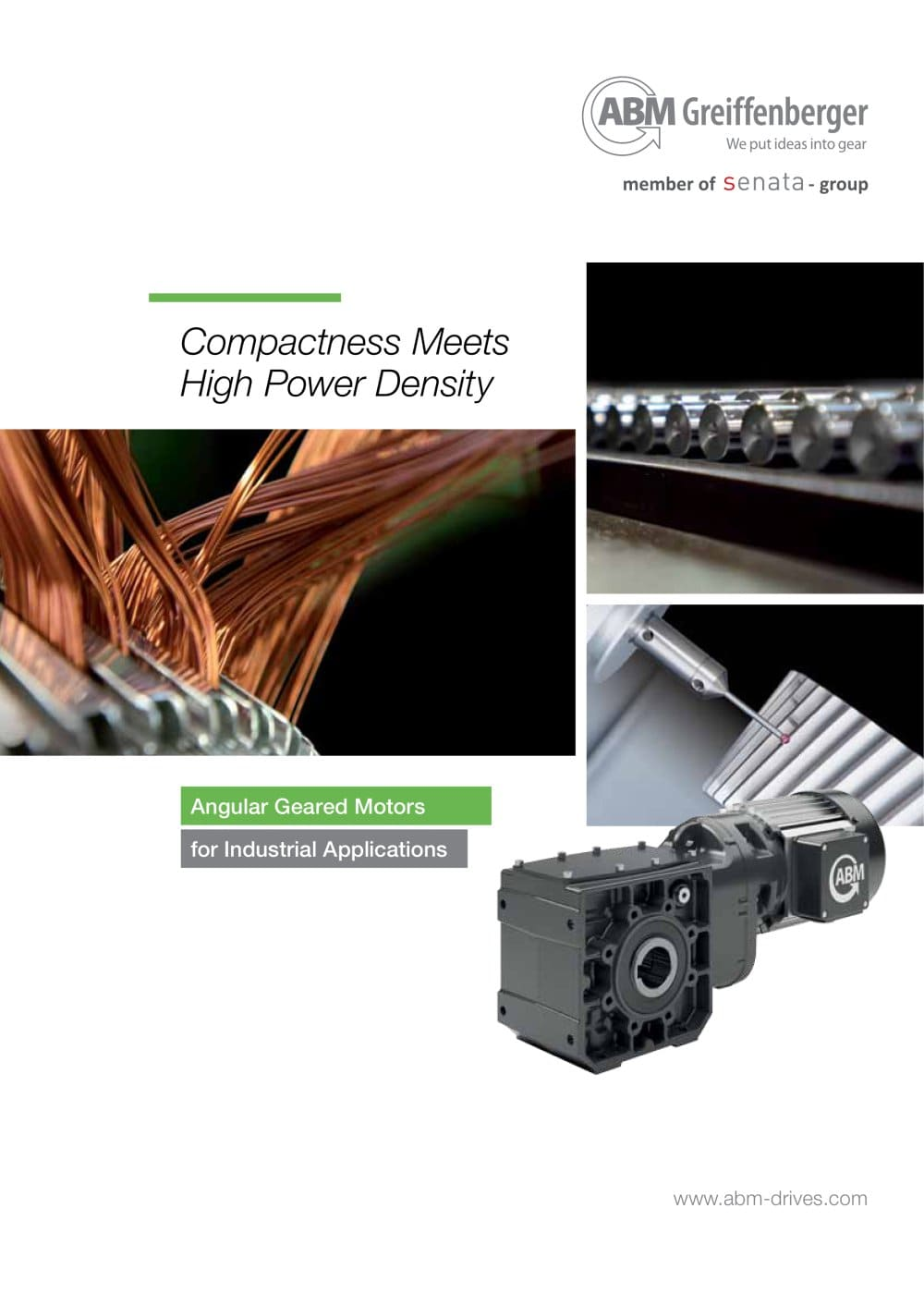 Angular Geared Motors for Industrial Applications - 1 / 8 Pages