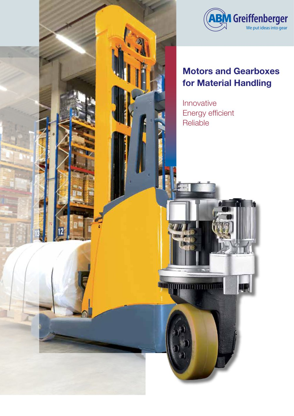 Motors and Gearboxes for Material Handling - 1 / 8 Pages