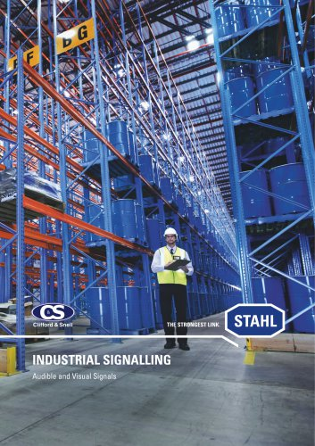 Industrial Signalling - Audible and Visual Signals