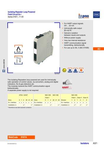 IsolatingRepeater AK00 II