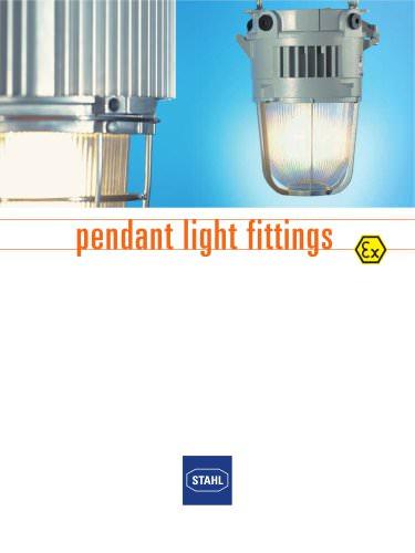 Pedant light fittings