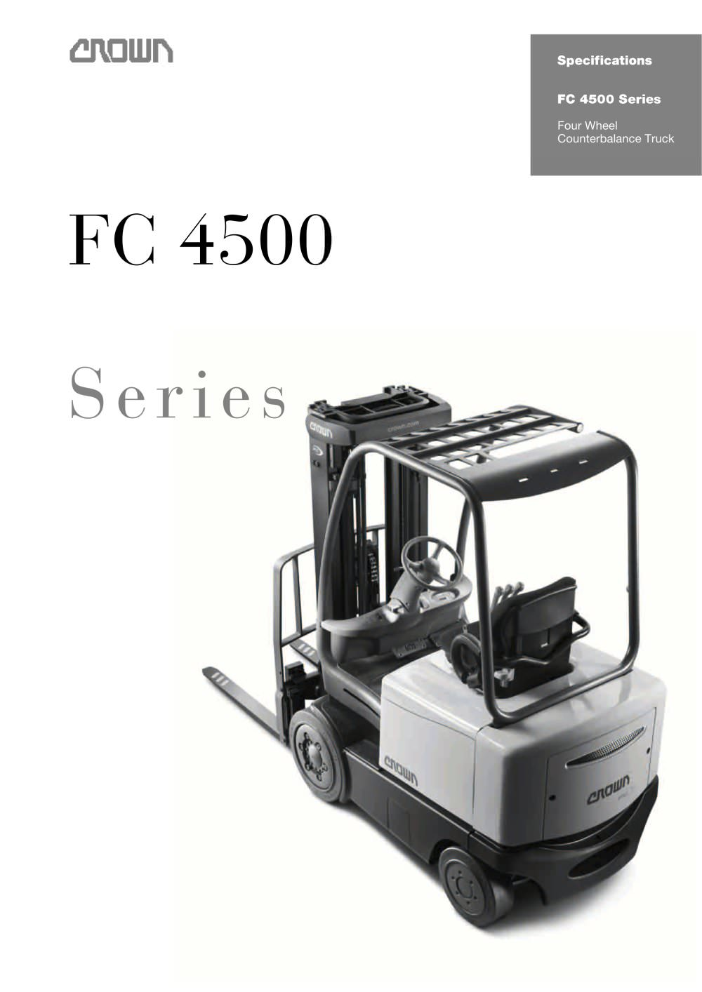Electric Forklift 4-Wheel, FC 4500 - 1 / 6 Pages