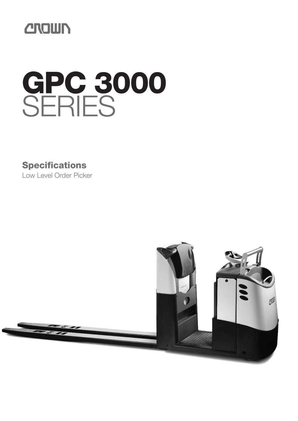 Order Picker GPC 3000 series - 1 / 6 Pages