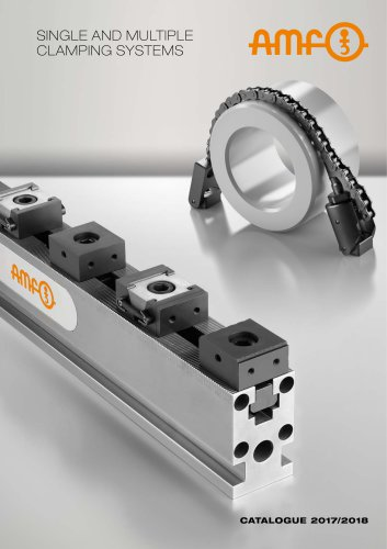 SINGLE AND MULTIPLE CLAMPING SYSTEMS