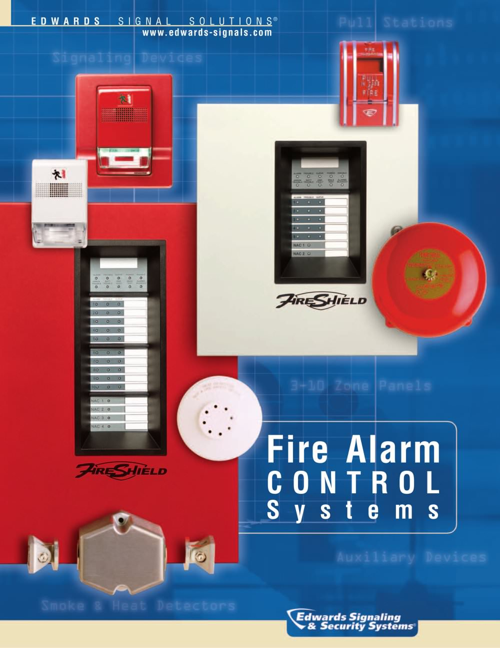 Fire Alarm Brochure - 1 / 8 Pages