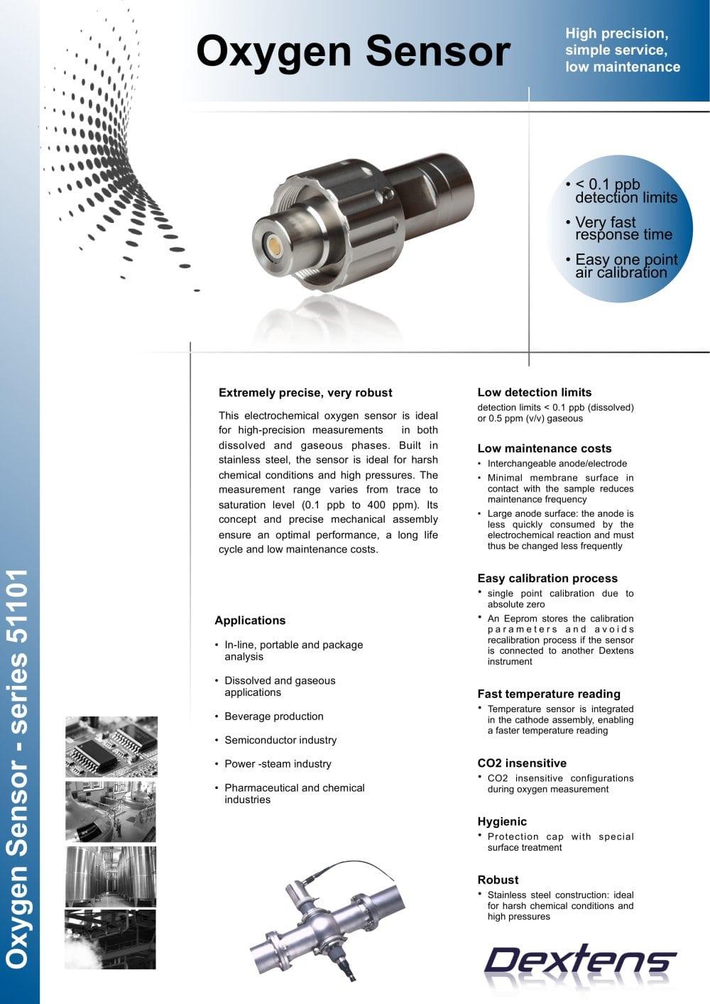 O2 sensor datasheet - Dextens - PDF Catalogue   Technical ...