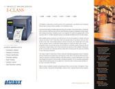 I-Class Industrial Bar Code Printers