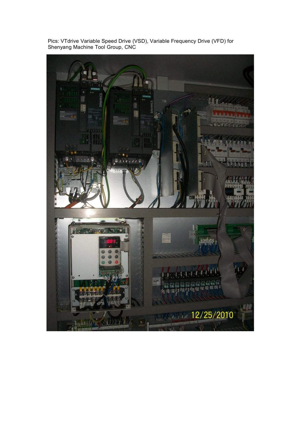 vtdrive variable speed drive vsd variable frequency drive vfd shenyang machine tool group cnc 611631_1b vtdrive variable speed drive (vsd), variable frequency drive (vfd