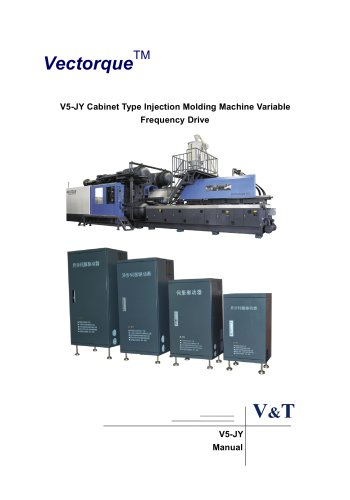 VTdrive VY-JY Cabinet Type Injection Molding Machine Variable