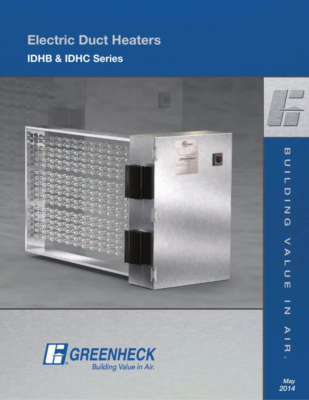 Models IDHC and IDHB Greenheck PDF Catalogue Technical