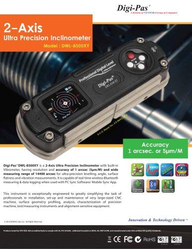 2-Axis Ultra Precision Inclinometer Model : DWL-8500XY - Tarax