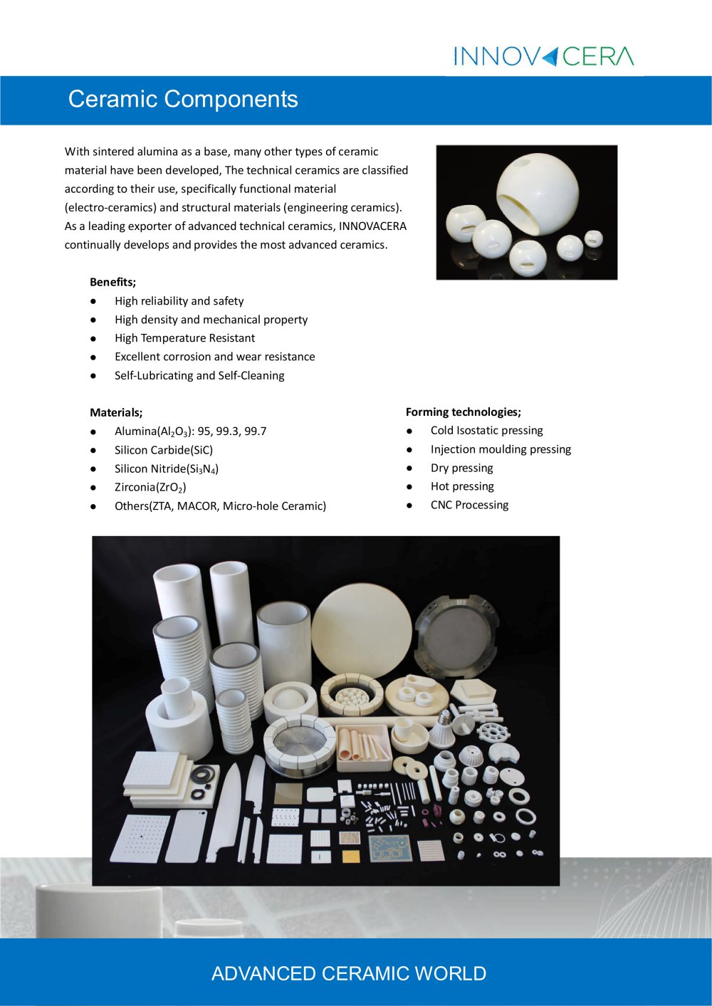 Innovacera Ceramic Components - 1 / 4 Pages