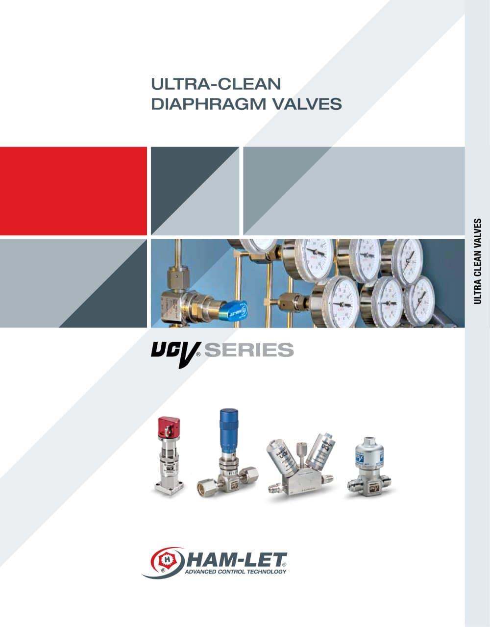 UCV Ultra Clean Diaphragm Valves - HAM-LET - PDF Catalogue ...