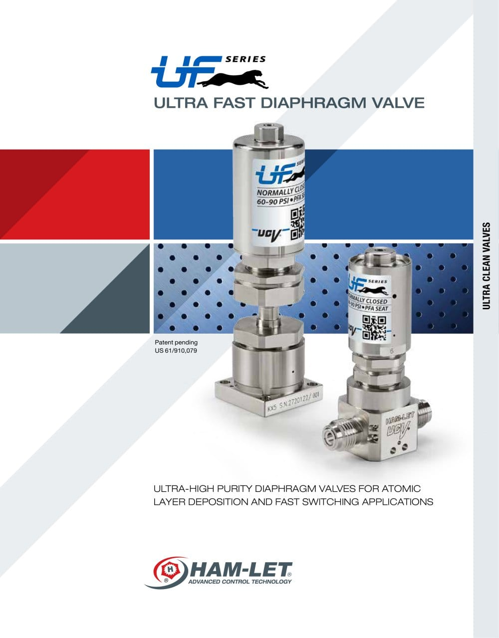 Ultra fast diaphragm valve ham let pdf catalogue technical ultra fast diaphragm valve 1 6 pages ccuart Image collections