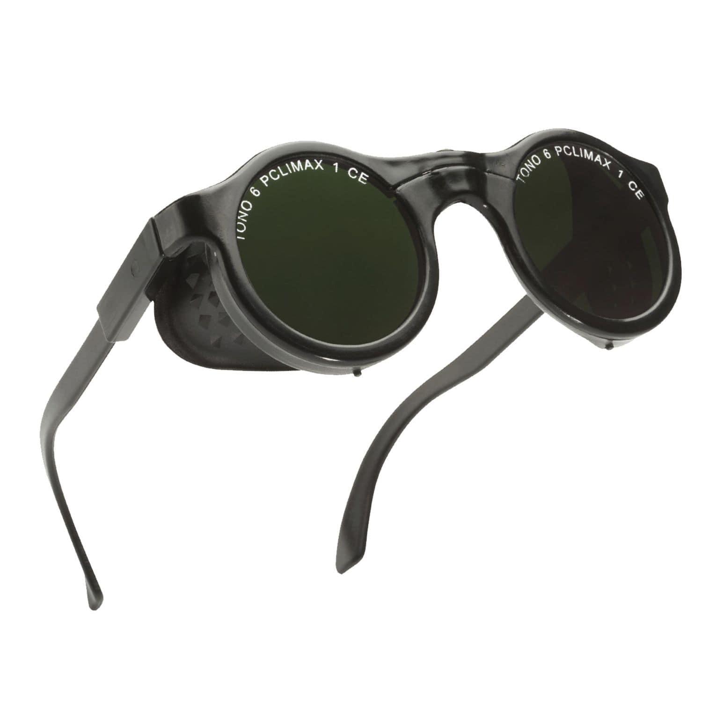 eb3e46fd9b1da óculos de proteção para soldagem   em poliamida   com proteção lateral - 620