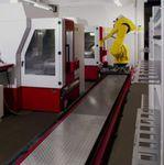 Célula robotizada de manipulação  Roeders