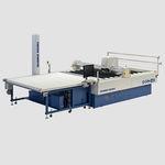 máquina de corte para tecidos / com cutter / para tecido de várias camadas / NC