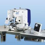 máquina de costura para pregar botões / ponto fixo / automática / de alta velocidade