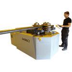 máquina de curvar de 3 polias com motor / eletrohidráulica / de tubos / de perfils