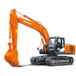 escavadeira de médio porte / de esteiras / a diesel / para construção civil