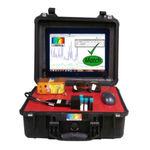 analisador para rede elétrica / de espectro / portátil / robusto