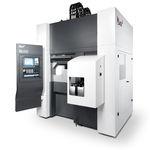 centro de torneamento e fresamento CNC / vertical / de dois fusos / compacto