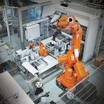 robô articulado / de manipulação / de paletização / de carregamento