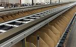 máquina classificadora split tray / para eletrônica / de alta velocidade
