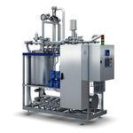 máquina de limpeza automática / de água / para a indústria agroalimentar