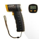 termômetro de infravermelho / digital / portátil / sem contato