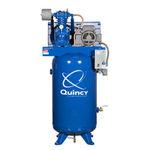Compressor de ar / de pistão / estacionário / lubrificado QP series Quincy Compressor