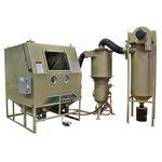 cabine de jateamento de areia por pressão / manual