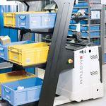 AGV de movimentação / selecionadora de pedidos