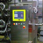 máquina de inspeção de raios X / para aplicações alimentares / para tubo multicamada / em linha