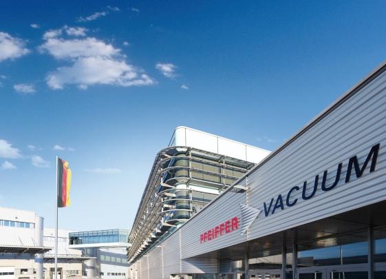 Nhà máy Pfeiffer Vacuum  tại Đức