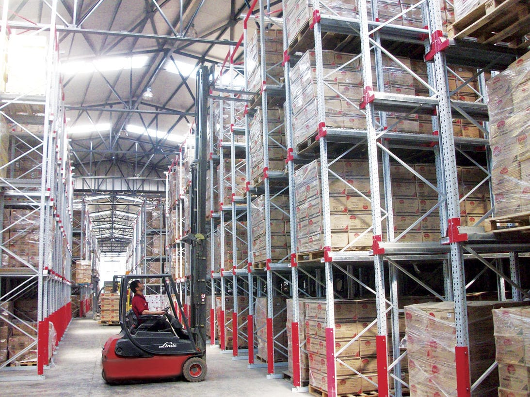 Storage Warehouse Shelving For Heavy Loads High Rise