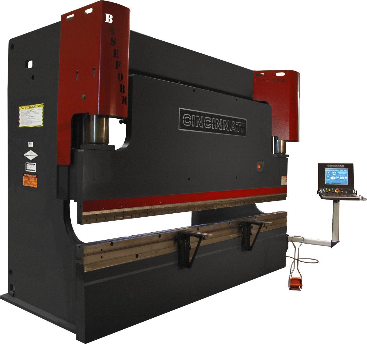 Hydraulic press brake / CNC BASEFORM series Cincinnati Incorporated