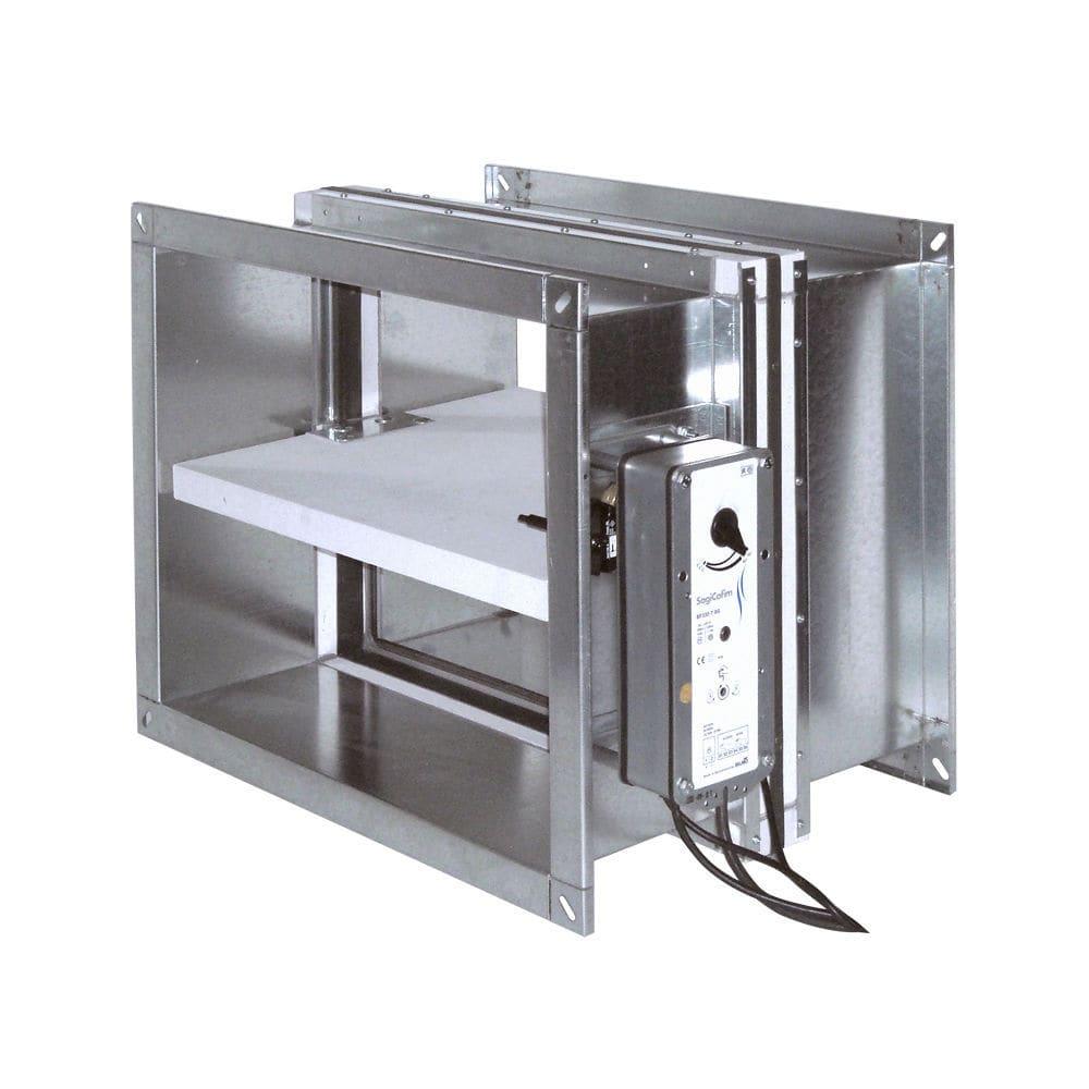Rectangular fire damper - HTE400 - SagiCofim