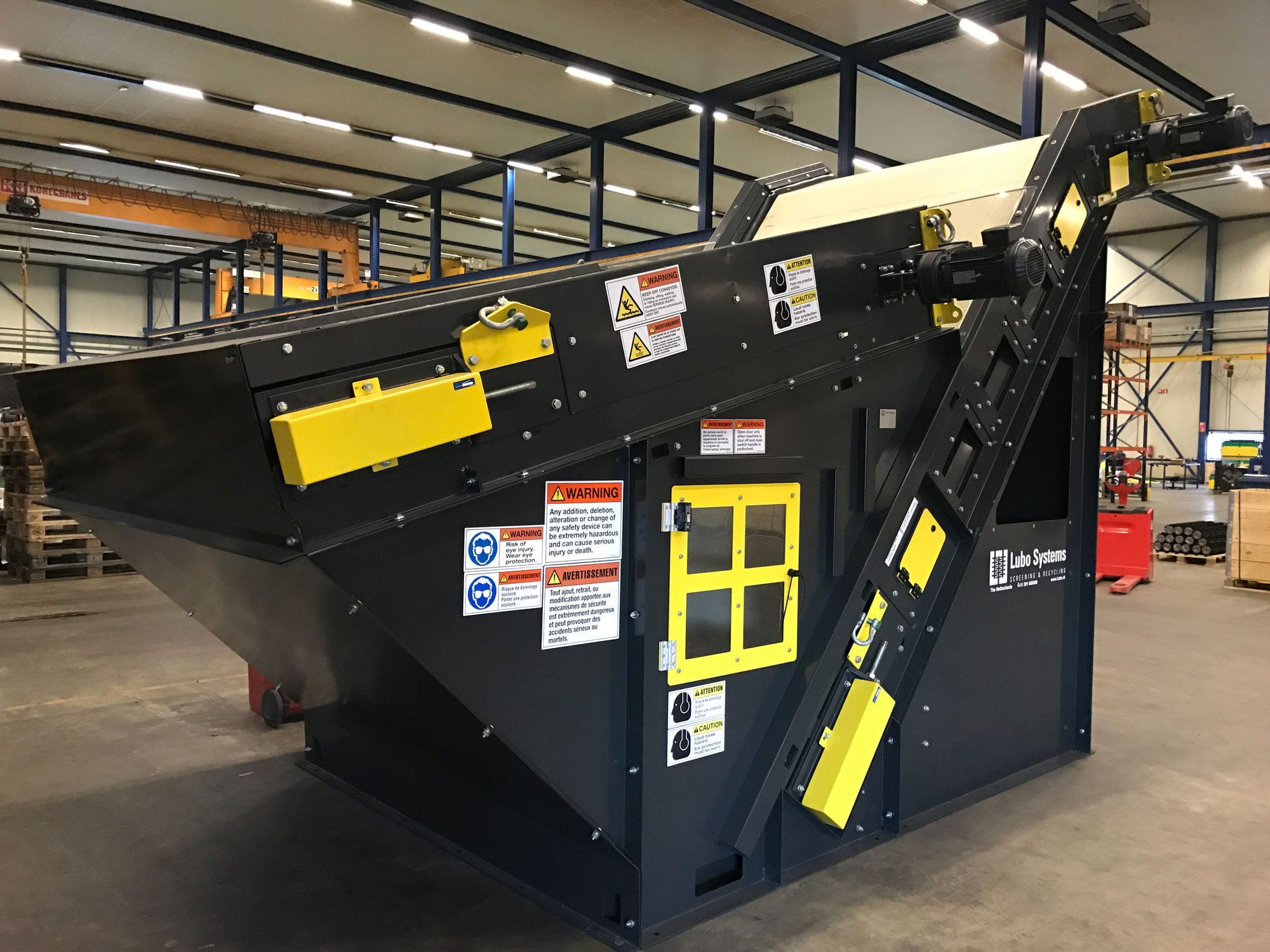 Air separator / paper / for the recycling industry / vacuum Lubo  PaperMagnet Bollegraaf Recycling Solutions