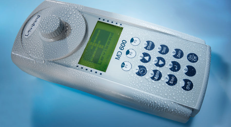 Portable photometer / for water analysis - MD 600 - Tintometer