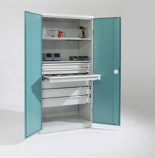 Storage Cabinet Workshop Floor Mounted With Drawer Neo