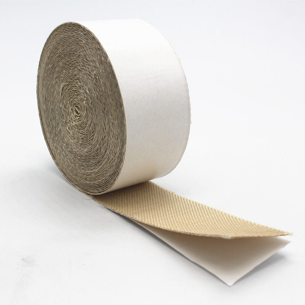 Silica adhesive tape / industrial / fire-resistant / high