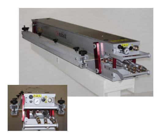 Hydraulic press / vulcanizing / for conveyor belt splicing - LPBE