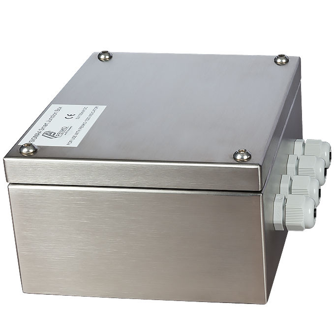 Surface mounted junction box / IP65 / stainless steel / for