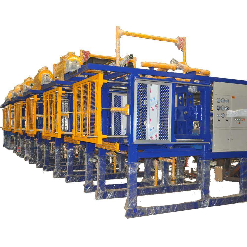 Particle foam molding machine / for expanded polystyrene / for the  packaging industry EPSSM1200 , EPSSM1700 , EPSSM2000 Shanghai Zhongji  Machinery Co ltd