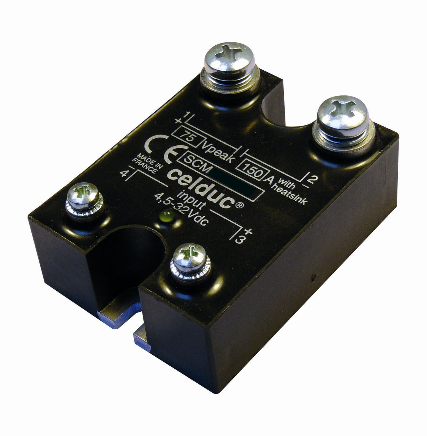 Mosfet Solid State Relay High Frequency Power Panel Mount Scm Series