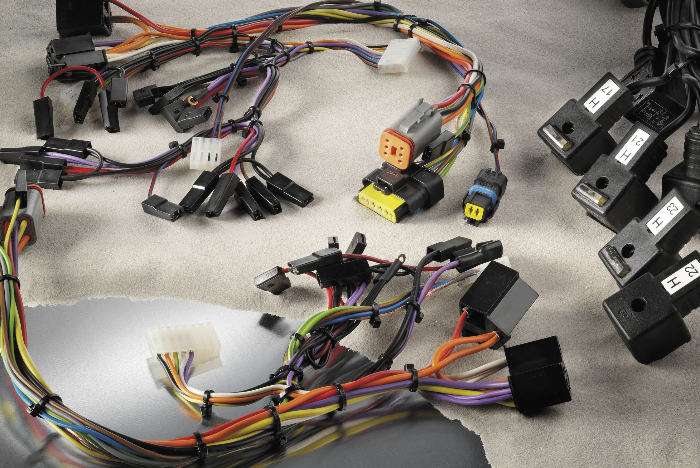 Wiring Harness Crusader Basic Power List Terms Com Sterling Truck Radio Electric Agco Bv
