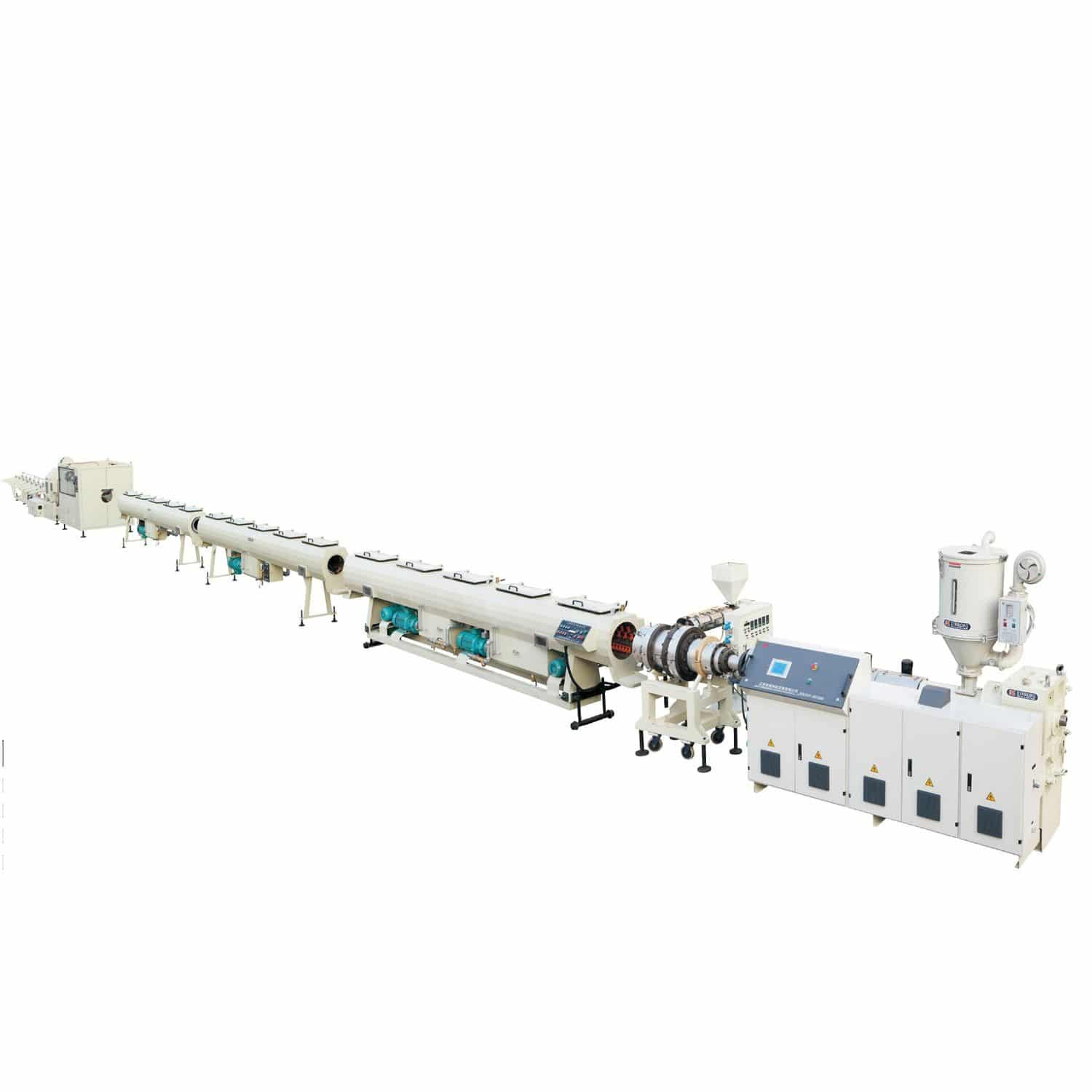 Tube extrusion line / for PE / multilayer / for drainage pipes PE/PE-RT  Jiangsu Xinrongplas Machinery Co , Ltd
